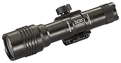 Streamlight 88059 Pro Tac Rail Mount 2 625 Lumen Professional Tactical Flashlight with High/Low/Strobe w/2x CR123A Batteries - 625 Lumens, Black