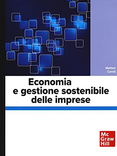 Economia e gestione sostenibile delle imprese