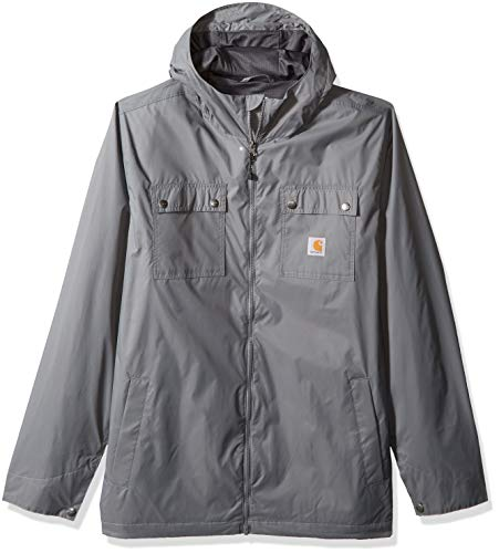 Carhartt Men's Big and Tall Big & Tall Rockford Jacket, Steel, 4X-Large