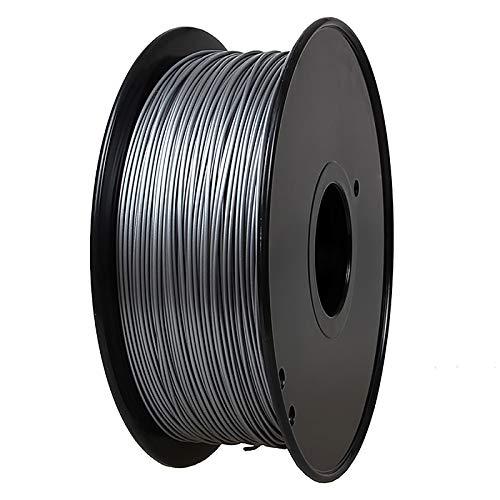 PLA Filament 1.75mm 3.0mm Temperature Change Printing Filament 1 Kg Spool Color Change PLA Conductive Filament 3D Printer Filament For 3D Printer, Gray To White(Color:1.75mm)