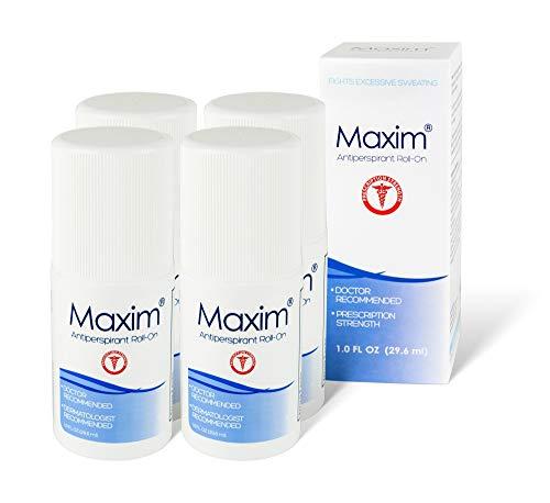 Maxim Clinical Strength Antiperspirant & Deodorant (4-Pack)