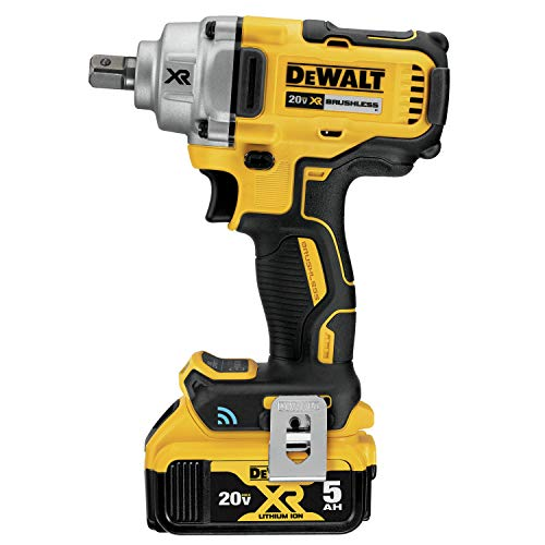 DEWALT 20V MAX Impact Wrench Detent Pin Anvil Kit, Mid-Range, Tool Connect, 1/2-Inch (DCF896P2)