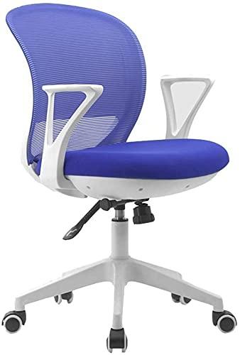 MUZIDP Office Chair Desk Chair Computer Chair Swivel Office Chair, Stitching (Color : E)