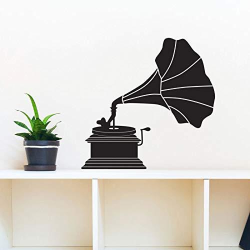 Elegante Vintage Straße Rollenspieler Victor Silhouette-Wandtattoo benutzerdefinierte Vinyl Kunst Aufkleber Wohnzimmer Dekoration Wandbild A5 43x42cm