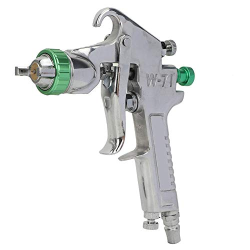 HEEPDD verfspuitpistool, W-71G pneumatisch huishouden, spuitpistool, zware krachtvoeding, 1,5 mm mondstuk voor pompen, spuitpistool, hogedruk