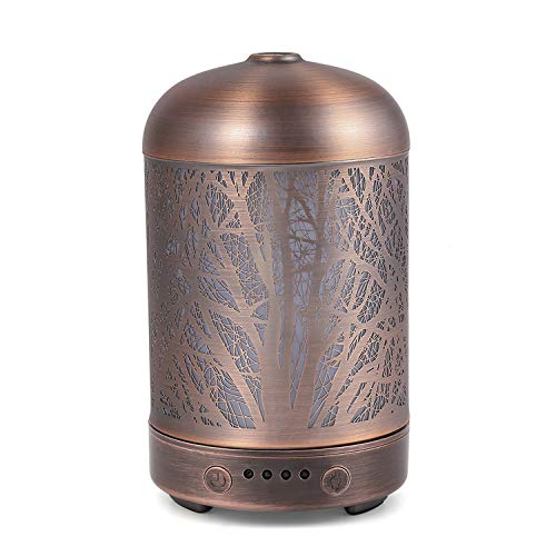 COOSA Difusor aroma ultrasónico aceite luz Led hogar