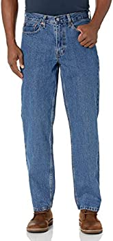 Levi's Men's 550 Relaxed Fit Jeans (various sizes in Medium Stonewash)