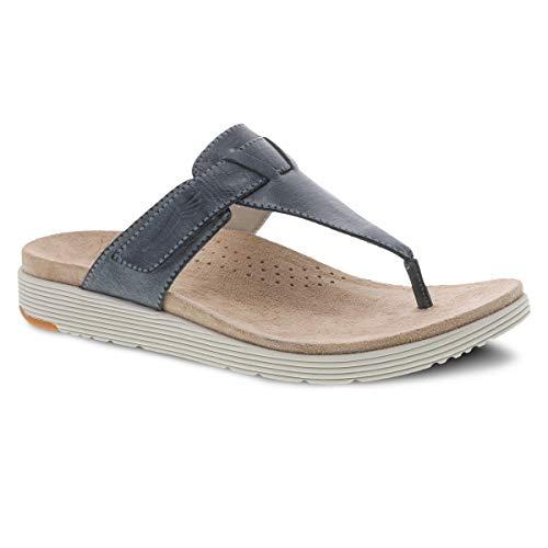 professional Comfortable summer sandals for women Dansko Cece Denim 6.5-7 M US