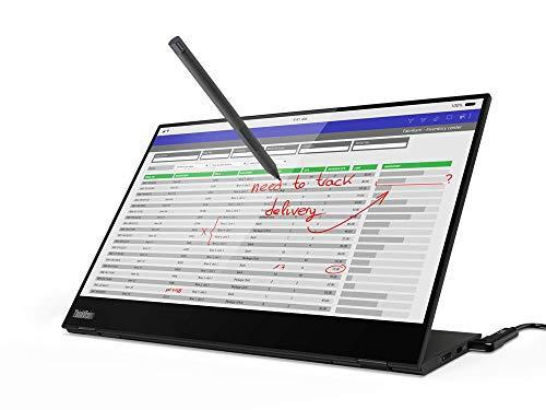 LENOVO - Monitores corporativos M14T A20140FX0 Monitor de 14 pulgadas