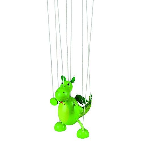 Goki 51754 Marionette Dinosaurier Puppe