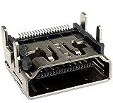 AERZETIX - Juego de 3 - Conector HDMI 19 pines - Enchufe hembra tipo A - de soldar - Montaje SMT - C43831