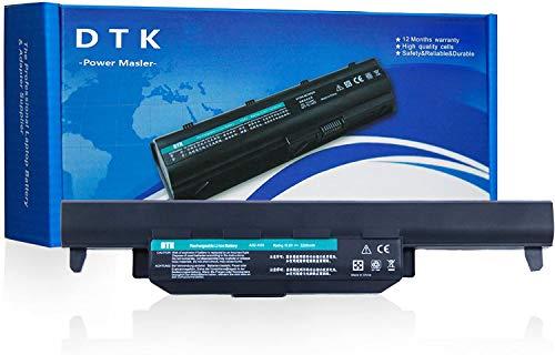 DTK Batería para ASUS R500V A45 A55 A75 K45 K55 K75 R400 R500 R700 U57 X45 X55 X75 P/N A32-K55 A33-K55 A41-K55 A42-K55 Baterías portátiles y netbooks 10.8V 5200mAh