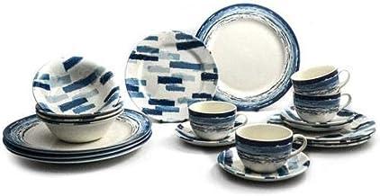 Claytan 20 Pieces Dinner Set Blue Colour