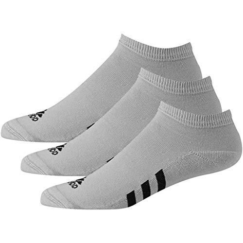 adidas M 3Pck Noshow Calcetines cortos, Gris (Gris Cf8451),