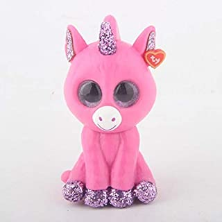 MANGMOC Ty Beanie Blind Box 1Pcs Random Mini Boos Collectible Hand Painted with Checklist Toys Unicorn Tiger Animal 6Cm Owl Doll Must Have Toys The Favourite Comic Toddler Superhero