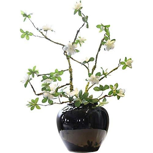 HongLianRiven Ceramicceramic Porch TV-kast schoen desktop decoratie bloemen kunst 12-6