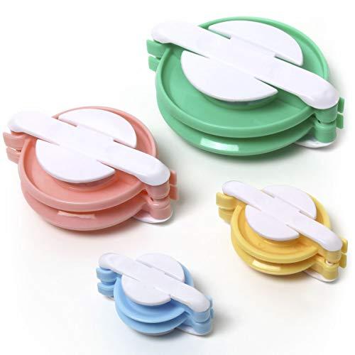 iGadgitz Home U6957-4er Set Pompon Maker, Verschiedene Größen Bommelmacher Bastelset - Set mit 3,8 cm, 4,8 cm, 6,8 cm, 8,8 cm