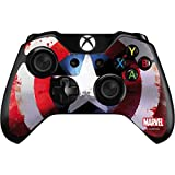Skinit Decal Gaming Skin Compatible with Xbox One Controller - Officially Licensed Marvel/Disney Captain America Shield Design