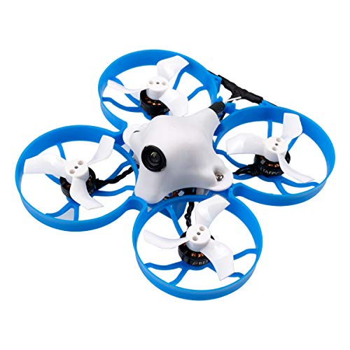 BETAFPV Meteor75 1S Brushless Whoop Drone TBS Crossfire with BT2.0 Connector F4 AIO 1S FC 18000KV 1102 Motor C01 PRO Camera for Tiny Whoop Micro FPV Racing Whoop Drone Quadcopter