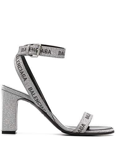 Balenciaga Luxury Fashion Damen 616271W2AH08010 Silber Polyurethan Sandalen | Frühling Sommer 20