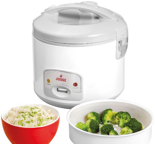 Judge JEA10 Large Electric Rice Cooker and Steamer 1.8L, Fully Automatic,...