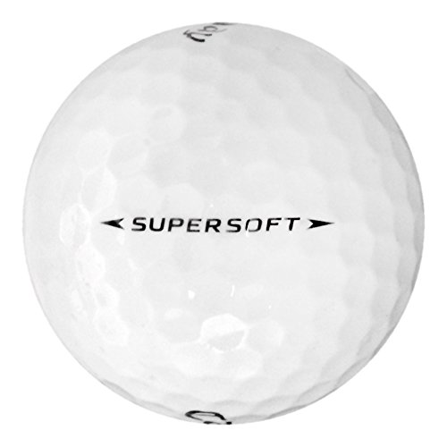 Callaway 50 Supersoft - Value (AAA) Grade - Recycled (Used) Golf Balls