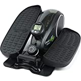DeskCycle Ellipse: Under Desk Elliptical Machine - Compact Desk Exercise Equipment (Black)