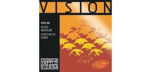 Thomastik corde per violino Vision Synthetic Core 'Mi Acciaio stagnato' corde di singolo