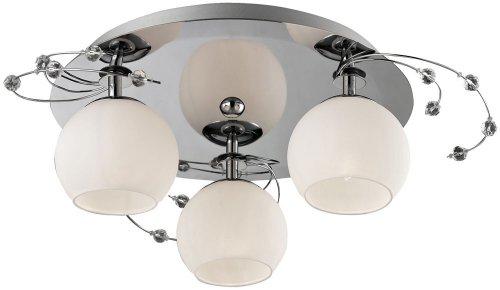 Deckenleuchte Glas Deckenlampe Beleuchtung Wohnzimmer Lampe Leuchte Licht Esto Aris 80100-3