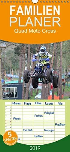 Quad Moto Cross - Familienplaner hoch (Wandkalender 2019 , 21 cm x 45 cm, hoch): Quad Sport für Fans und Fahrer (Monatskalender, 14 Seiten )