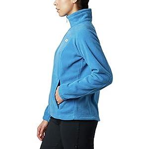 Columbia womens Benton Springs Full Zip Fleece Jacket, Dark Pool, Large US