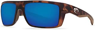 Costa Del Mar Motu 580G Retro Tortoise/Blue Polarized Sunglasses