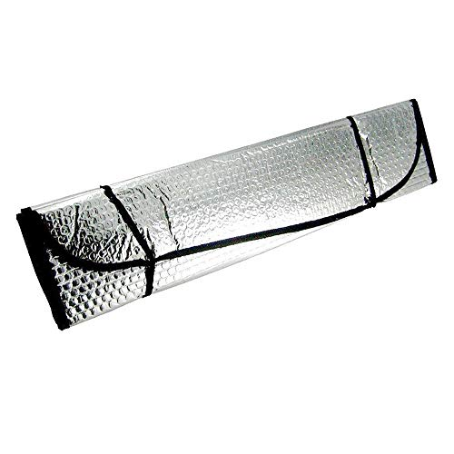 JHSHOP Parasol para Coche Parabrisas del Coche Plegable Reflectante Sombras sombrilla de la Cortina de Sun del Parabrisas del Visera del Tablero de Instrumentos Cubierta del Bloque atérmico Sombrilla