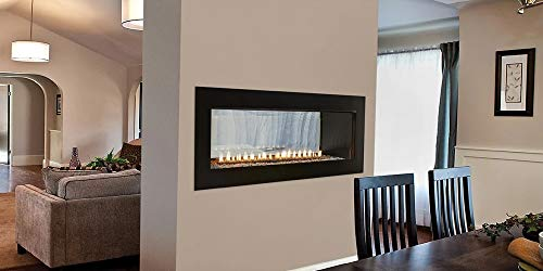 Best Buy! Empire Comfort Systems Boulevard IP Contemporary See-Through Vent-Free 40k BTU Fireplace -...