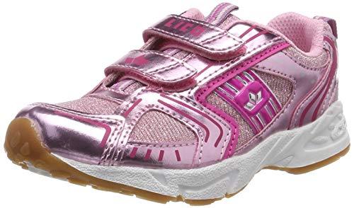 Lico Silverstar V Dziewczynki Buty do różnych sportów uprawianych w pomieszczeniach, różowy/różowy (Pink), 28 EU