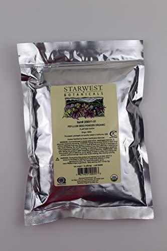 Starwest Botanicals Organic Psyllium Seed Powder, 1 Pound