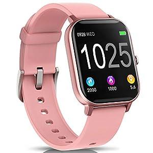 AIMIUVEI Smartwatch, Reloj Inteligente IP67 con Pulsómetro, Presión Arterial, 7 Modos de Deportes y GPS, Monitor de… 14