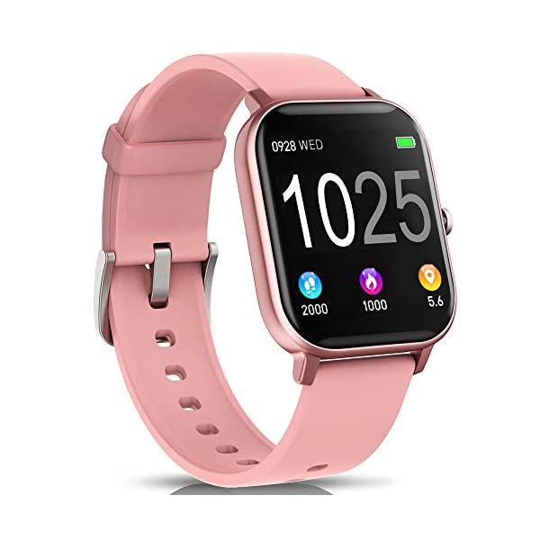 AIMIUVEI Smartwatch, Reloj Inteligente IP67 con Pulsómetro, Presión Arterial, 7 Modos de Deportes y GPS, Monitor de… 2