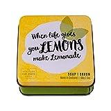 Scottish Fine Soap Company Savon Soap Tin - When life gives you Lemons make Lemonade 100g