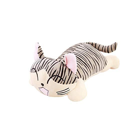 Lindo gato de queso de peluche de peluche de animales de peluche suave cojín colección gato lindo regalo de cumpleaños regalo del día de los niños
