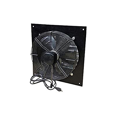 Canarm Exhaust Shutter Fan - 16in. Dia. 1800/2000/2300 CFM, 1/8 HP, Model Number XFS16