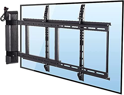 DFJU Soporte de Base para TV Rack de TV eléctrico Universal...