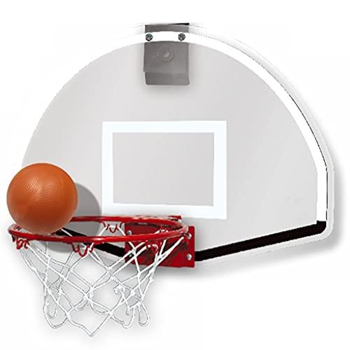 Reemplazo de red de baloncesto resistente Mini Hoop de baloncesto para niños, Cuelga del hogar Portátil, Punch-Free Indoor Kindergarten Bebé Colgando Marco de tiro Juguete Aro de baloncesto interior o