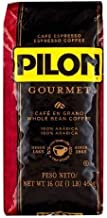 Pilon Gourmet Whole Bean Restaurant Blend Espresso Coffee, 16 Ounce
