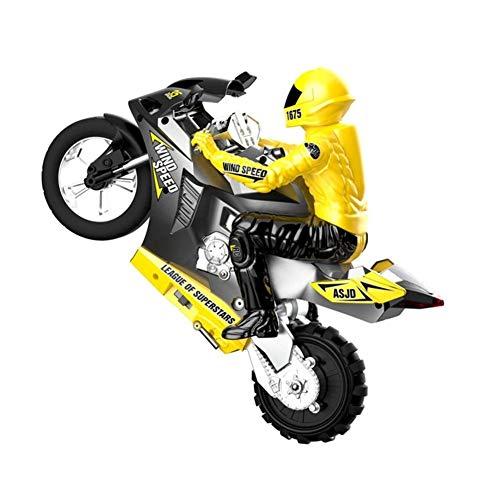 JYXMY Calle eléctrico RC Racer Bike Top Race 4 canal RC de...