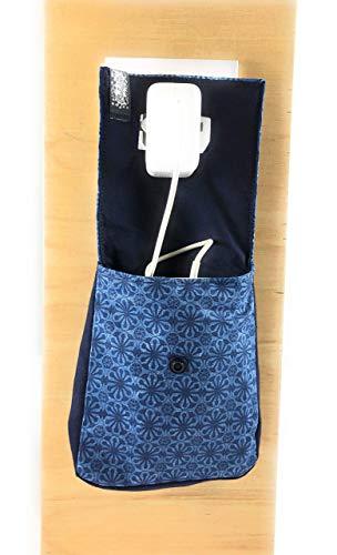 Handyladetasche und Kabeltasche in einem, Blau