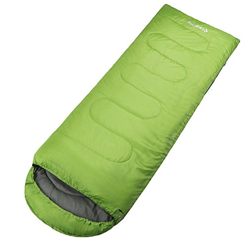 KingCamp - 523168 Oasis 300 - sac de couchage - Mixte Adulte - Vert - 220 x 75 x 10 cm
