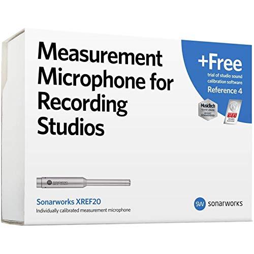 Sonarworks Micrófono de medición de calibración XREF20R4 para estudios de grabación