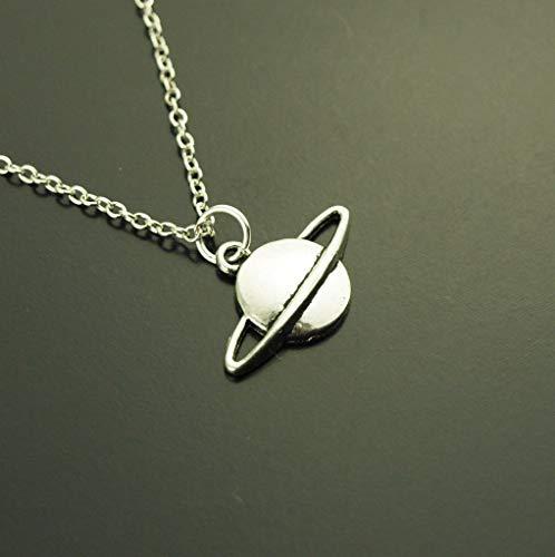 Kette Planet Himmelskörper Stern Anhänger silbern Juvelato
