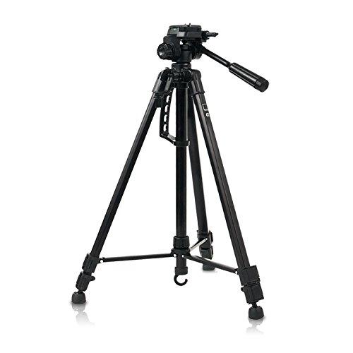 HAUSER & PICARD Trípode Universal Alpha 3 Camera de eSmart | Trípode ligero de aluminio | Para vídeo y fotografía